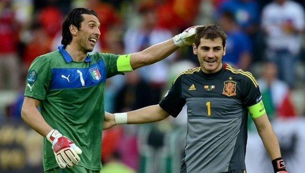L'émouvant message de Buffon à Iker Casillas. afp