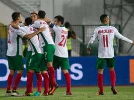 Bulgaria y Luxemburgo firmaron un partido 'loco' que se resolvió en el descuento. UEFA