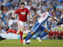 Tres equipos se juegan la salvación en la última jornada en el Championship. NottinghamForest