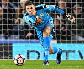 Nick Pope has undergone shoulder surgery following his injury. BurnleyFC