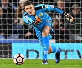 Nick Pope has undergone shoulder surgery following his injury. BurnleyFC