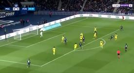 Verratti a marqué face au FC Nantes.  Capture/BeINSports