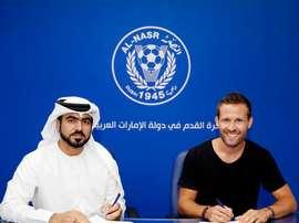 Yohan Cabaye se marcha a los Emiratos Árabes Unidos. ALNasrSC