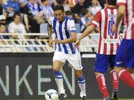 Cadamuro, ex jugador de la Real Sociedad, se marcha a jugar la Segunda División Suiza. Twitter