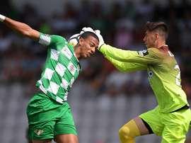 Cádiz apontou o primeiro golo do Moreirense. Twitter