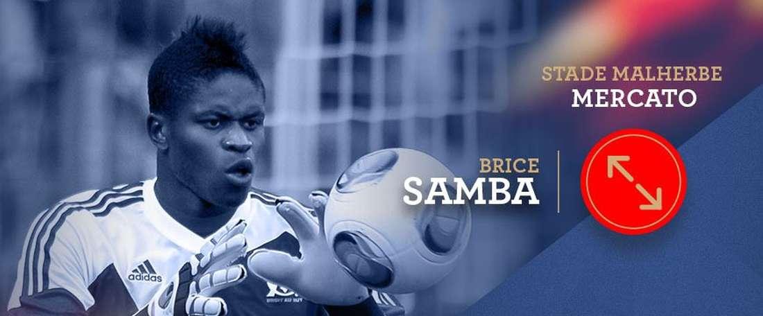 Caen recrute un nouveau gardien, Brice Samba. Caen