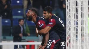 Le formazioni ufficiali di Bologna-Cagliari. EFE