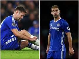 Cahill (L) and Ivanovic (R) have not performed under Conte. BeSoccer