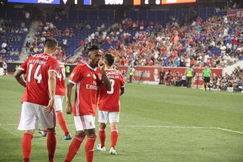 El Benfica se toma la revancha en Faro. SLBenfica