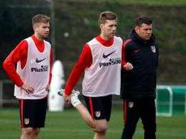 Caio Henrique saldrá del Atlético como cedido. Twitter