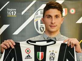 Caldara a signé pour la Juventus. JuventusFC