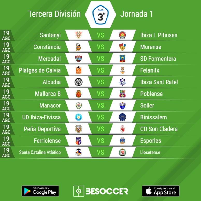 Calendario Tercera Division.Ya Tenemos Calendario Del Grupo Xi De Tercera Division Besoccer