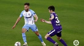 El Málaga lleva cuatro jornadas consecutivas sin perder. LaLiga