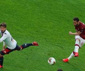 Sem público, Milan perde em casa para o Genoa. ACMilan
