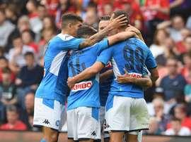 Il Napoli batte il Liverpool. LFC