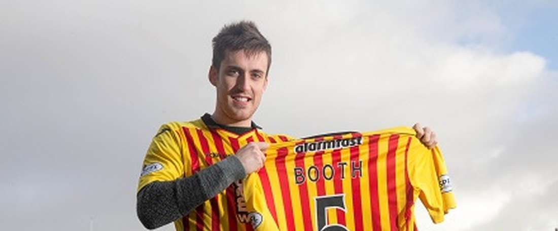 Callum Booth has signed a new contract with Partick Thistle until May 2018. PartickThistleFC