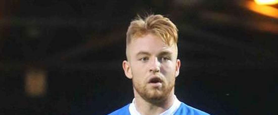 Callum Camps was shocked by Rochdale's PA announcement. RochdaleFC