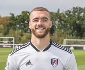 Calum Chambers is happy to be at Fulham. FulhamFC
