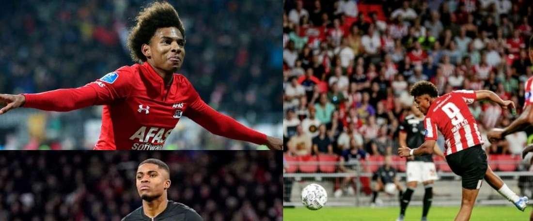 Barca have their eyes on three Dutch strikers. AFP - AZAlkmaar