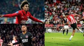 El Barça se ha fijado en tres jóvenes atacantes holandes. AFP - AZAlkmaar