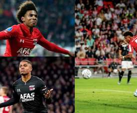 Barca have their eyes on three Dutch strikers. AFP - AZAlkmaar