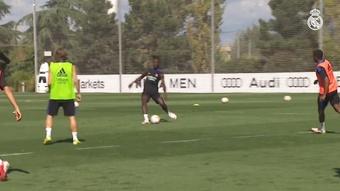 VÍDEO: así prepara Camavinga el duelo contra el Valencia. DUGOUT