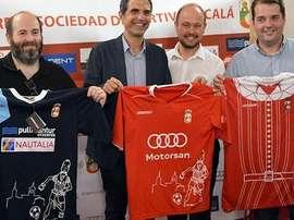 La RSD Alcalá ha sorprendido con su nueva camiseta. RSDAlcalá
