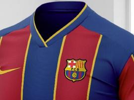 Problemas con la nueva camiseta del Barcelona. Nike