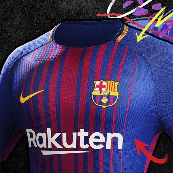 Maillot Domicile FC Barcelona nouveau