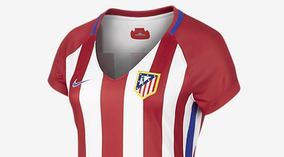 La nueva camiseta femenina del Atlético - BeSoccer add9b08bc3a92
