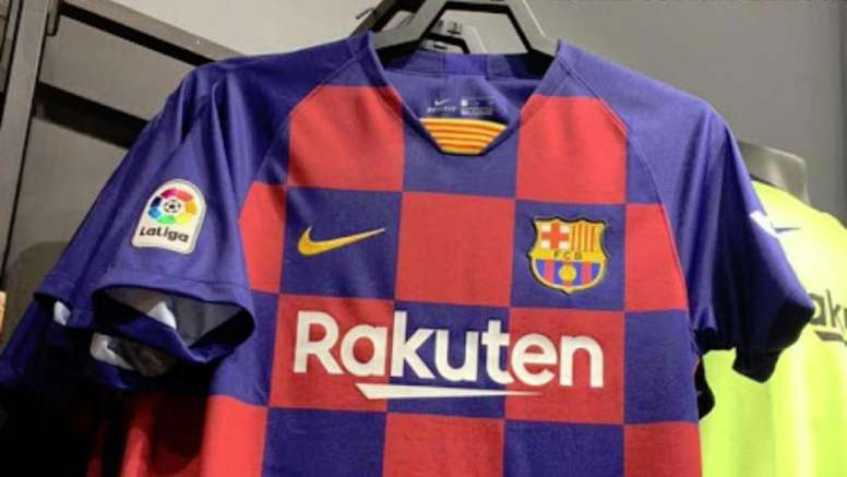 f3f261beb Pin Barcelona s potential new kit for the 2019 20 season. Footyheadlines