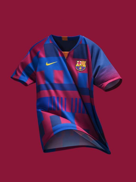 Nike lança uma camiseta especial para o Barcelona - BeSoccer 70dbf8ff84517