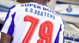 Kelvin Boateng llega al Oporto B. Twitter/FCPorto