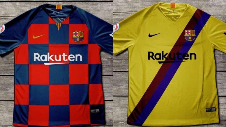 e158afe1d5f Pin Cambia el diseño en la nueva camiseta del Barça para la próxima  temporada. Twitter/