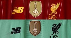 El Liverpool presumió de (fugaz) parche de campeón del mundo. LiverpoolFC
