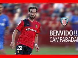 Campabadal, nuevo jugador del Lugo. CDLugo
