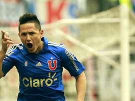Canales fue uno de los goleadores de La U. Twitter