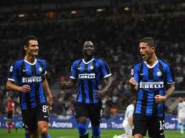 Sensi brilha no Inter. EFE