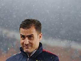 Cannavaro ha sido cesado en su cargo de entrenador del Al-Nasr. Twitter