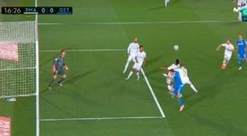 Carvajal pudo haber cometido tres penaltis. Capturas/MovistarLaLiga