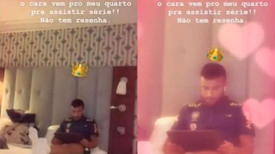 La vendetta di Neymar. Instagram/neymarjr