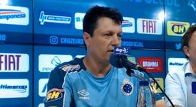 Batista está recuperándose de un infarto. YouTube/CruzeiroEsporteClube