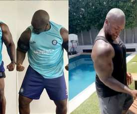 Pasan los años y el futbolista con más fuerza del FIFA sigue siendo el mismo. Instaram/Akinfenwa