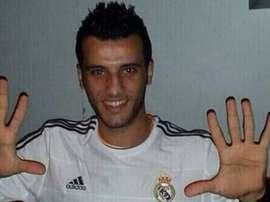 El delantero sirio es hincha del conjunto blanco. Twitter/HHala_Madridd