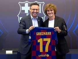 Griezmann vestirá a 17. Captura/FCBarcelona