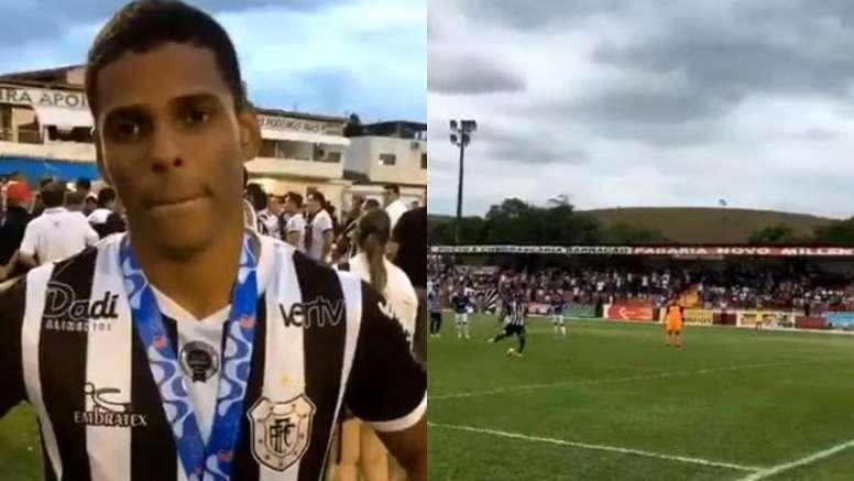 El brasileño, orgulloso por tomar el relevo del técnico de Dorados. Twitter/FFERJ