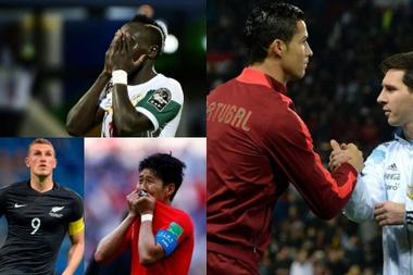 Quem são os melhores onze de cada continente? BeSoccer/EFE/AFP