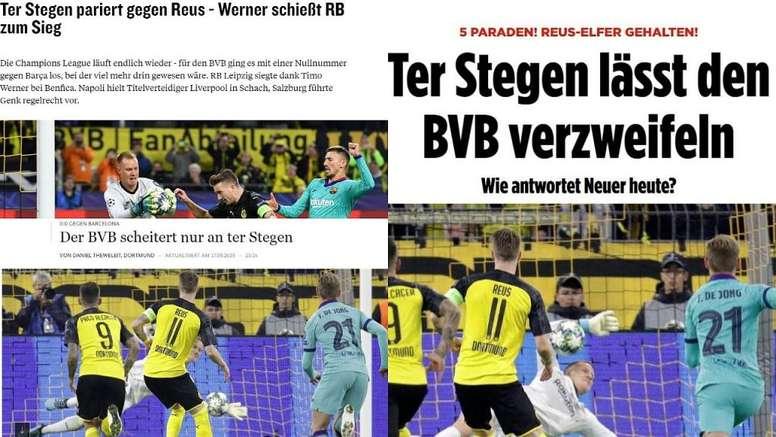 Alemania se rinde a Ter Stegen. Capturas