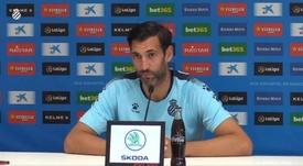 Diego López se queda con lo bueno del partido. Captura/RCDEspanyol