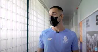 Diogo Costa, el portero que brilla bajo el ala de Casillas. Captura/FCPorto